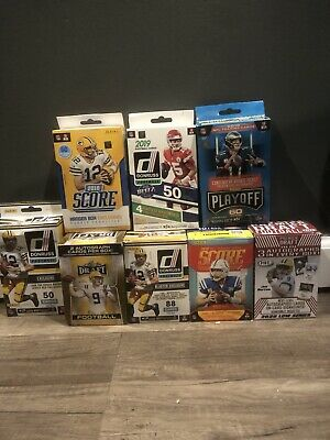 Football Card Lot. 1 Guaranteed Hit🔥50+ Cards!!! 🏈 Rookies Autos And More!!!