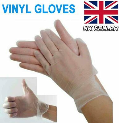 Disposable HypoAllergenic Medical Powder Latex Free Antibacterial Gloves M L XL