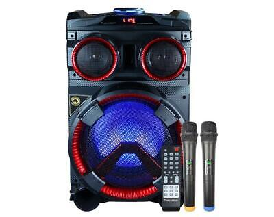 Portable Entertainment Party Speaker Bluetooth All-in-1 Karaoke System