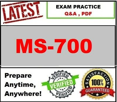MS-700 -LATEST Practice for Exam- Managing MS Teams - Q&A, PDF