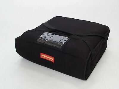 "Pizza Delivery Bag Thick Insulated(Holds upto Two 16"" or Two 18"" Pizzas) Red"