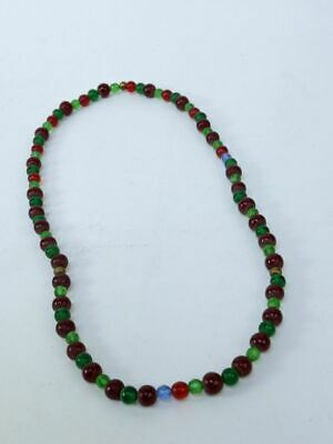 Antique Plateau Indian Trade Bead Necklace