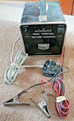 Vintage WINFIELD Battery Charger 6/12V