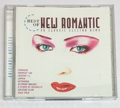 Best of new romantic 36 classic electro gems Erasure japan ultravox UK FREE POST