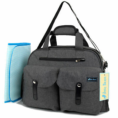 Baby Diaper Tote Bag for Maternity Travel Large Capacity Organizer Changing Pad