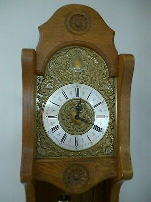 Weight Driven, 8 Day, Open-fronted, Grandfather / Longcase Clock.