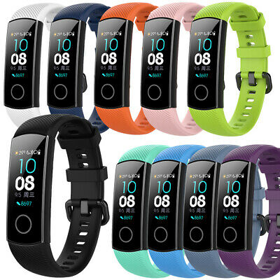 Replacement Wrist Band Strap For Huawei Honor 4 5 Silicone Watch Bracelet Belt