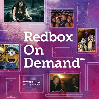 Redbox on demand (ondemand) 1 Digital Rental Code..Fast Delivery..Watch At Home!