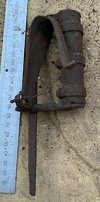 Antique East India Company Wrought Iron Lock - 18th Century - With Key - #45