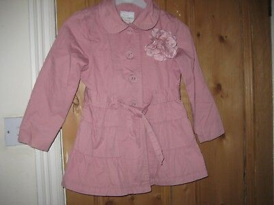 Girls Coat Spring/ Autumn Pink NEXT Age 5-6