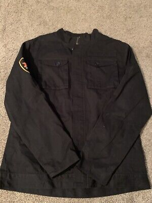 RARE Dos Equis XX Beer Military Field Cargo Jacket Coat Men's Size XL