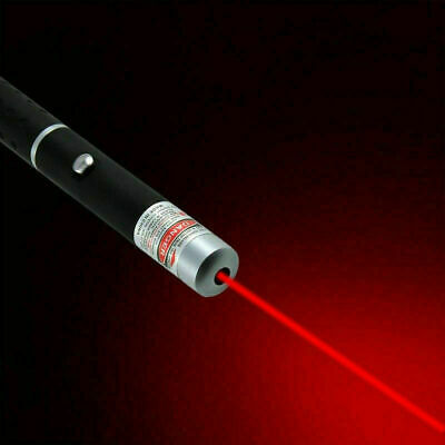 UK 1mW POWERFUL RED LASER LAZER POINTER PEN HIGH POWER PROFESSIONAL 650nm Red
