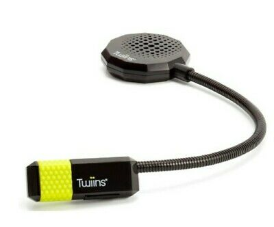 Twiins Hf1.0 Dual Bluetooth Motorcycle Headset For Phone Calls, Music, Gps, Apps