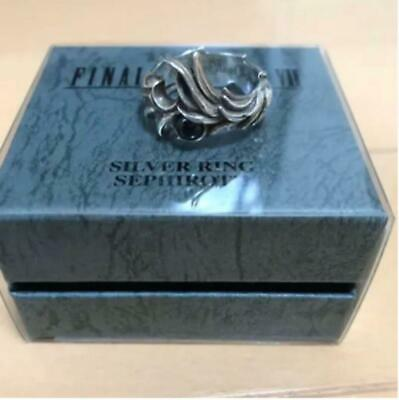 Final Fantasy Ⅶ 7 Sephiroth Ring Silver 925 US9.5 JP19 Square Enix Official