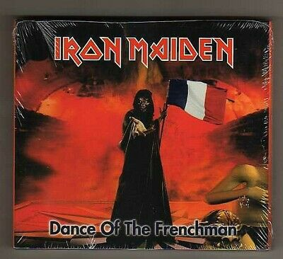 Iron Maiden ‎– Dance Of The Frenchman  - 2 CD Digipack 9854787415875  - SEALED