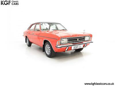 An Astonishing Launch Specification Ford Cortina Mk3 2000E with 25,105 Miles
