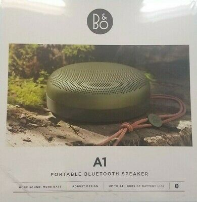 Bang & Olufsen A1 Portable Wireless Bluetooth Speaker Aloe (new factory sealed)