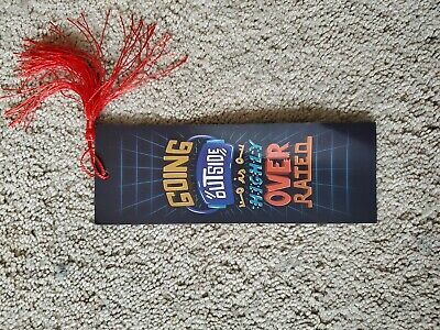 Shelflove Crate Ready Player One Inspired Bookmark