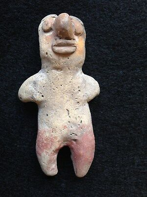 Pre-Columbian ECUADOR BAHIA Figurine, 300 BC -100 AD, NICE EARLY FIGURE!