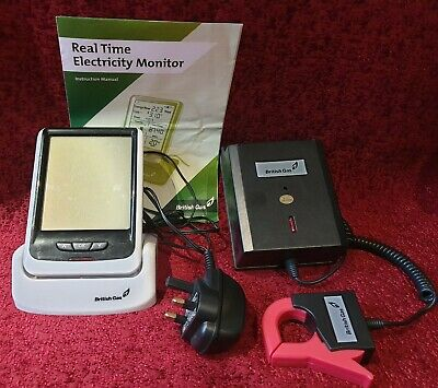 British Gas Real Time Electricity Monitor Model No. CC128