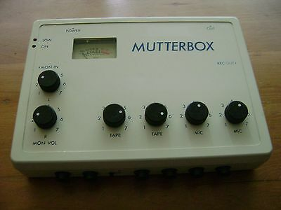 Gavan Kelly Mutterbox / Mutter Box - Complete With Cables - Bbc News - Rare