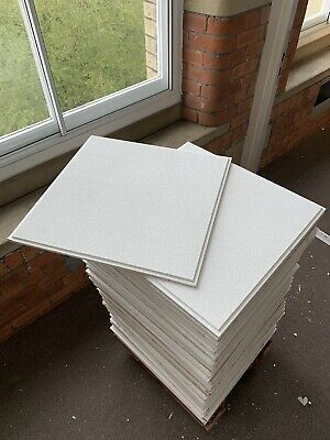 Armstrong Dune Supreme 600 x 600mm Ceiling Tiles (2New Boxes And Stack Of Used)