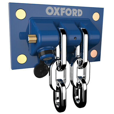 Oxford Heavy Duty Motorbike Motorcycle Wall Ground Anchor Docking Station OF437