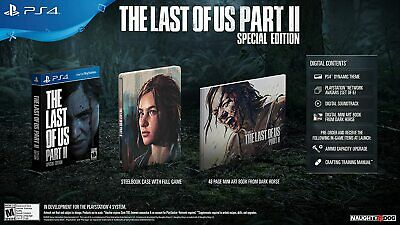 The Last of Us Part II 2 Special Edition | PS4 PlayStation 4 | NTSC Limited NEW