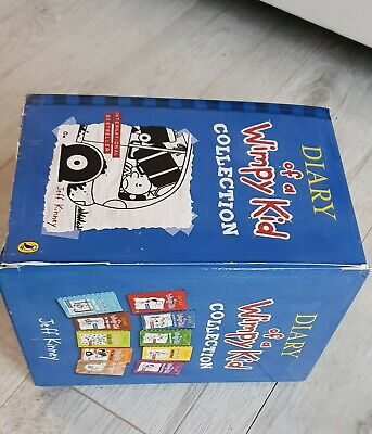 Diary of a Wimpy Kid Box Set lot Collection 10 Books Jeff Kinney RRP £69.90 9+