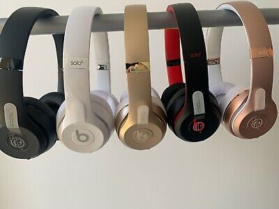 Beats Solo 3 Wireless Headphones -Refurbished to Completely New - High Quality