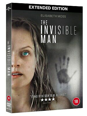 The Invisible Man [DVD] RELEASED 29/06/2020