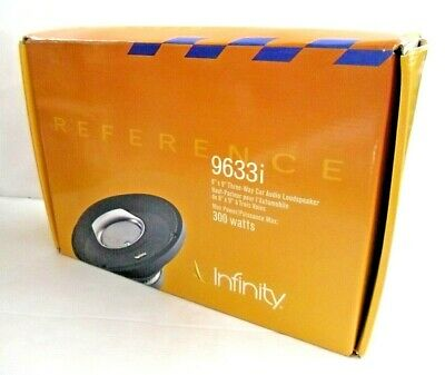 Reference Infinity 3-way car audio Loudspeakers 9633i