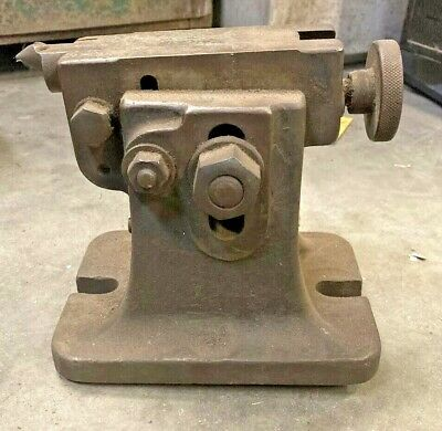 Brown & Sharpe Dividing Head Adjustable Height Tailstock Machinist Mill Tool