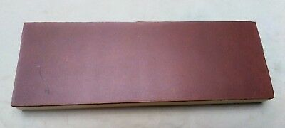 """10"""" x 3.5"""" Single Sided Leather Sharpening Strop"""