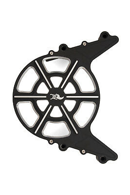 Ken's Factory Victory Octane Outer Sprocket Cover Semi Gloss Black