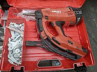 Hilti Nail Gun Gx3 only six months old with loads of accessories and spare gas