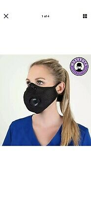 Activated Carbon Face Mask Shield with filter for Cycling Outdoor Ships From USA