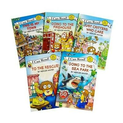Brand New Little Critter I Can Read Paperback 5 book set By Mercer Mayer