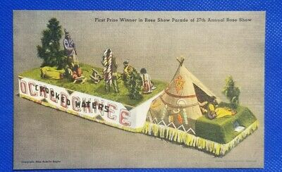 Vintage Postcard:First Prize Winner in Rose Show Parade of 27th Anual Rose Show