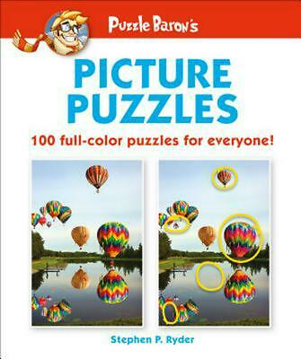 Puzzle Baron's Picture Puzzles: 100 All-Color Puzzles for Everyone by Puzzle Bar