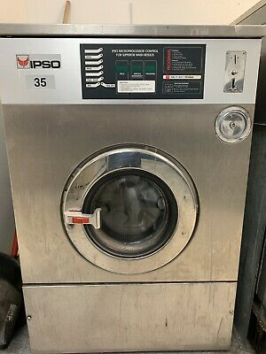IPSO  WASHER STAINLESS STEEL, 35LB   Good condition