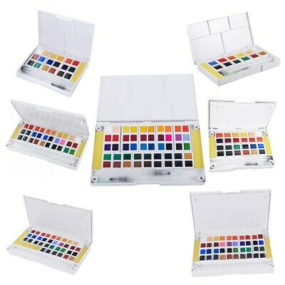 Superior Pigment Solid Watercolor Paints Set Colored Pencils For Drawing Pa B9G5