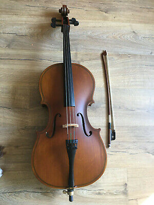 1/8 Size Student Cello with Soft case by Sotendo