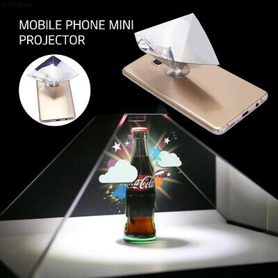 Foldable ABS Hologram Film Holographic Projection Screen Mobile Phone Display