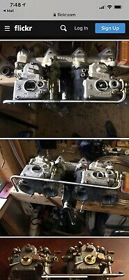 Bmw 2002 Weber Dcoe Stainless Fuel Rail For M10