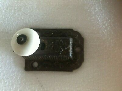 "Jelly Cabinet Latch Lock 2"" x 1 ½"" Vintage Antique Ornate Porcelain Knob (Lot A)"