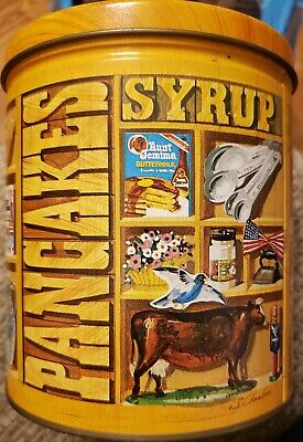 Aunt Jemima Limited Edition 1983 Tin Canister