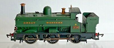 Hornby 00 Gauge - R1077 - Gwr Green 0-6-0 Pannier Tank Dcc Fitted 2728 - Unboxed