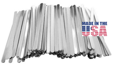 Face Mask Nose Strip Bracket  MADE IN THE USA 100 pcs. Aluminum Band USA