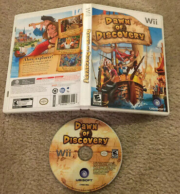 Dawn of Discovery (Nintendo Wii, 2009) Tested! Missing Manual, But W/ Case! Good